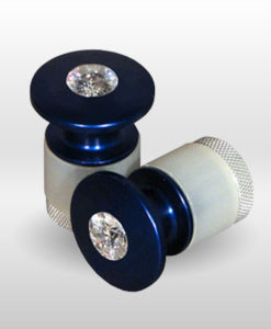 Jeweled Handlebar End Cap