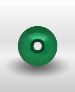 """Green 1⅛"""" Threadless Headset Cap"""
