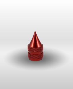 Red Schrader Dagger Valve Stem Cap