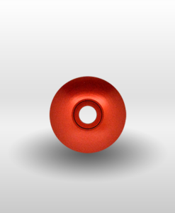 "Red 1"" Threadless Headset Cap"