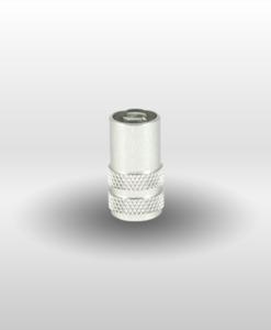 Silver Schrader Valve Stem Cap Core Remover