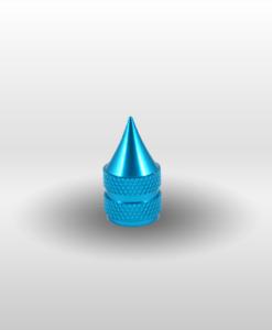 Turquoise Schrader Dagger Valve Stem Cap