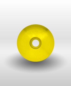 "Yellow 1¼"" Threadless Headset Cap"