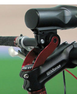 Bicycle Accessory Mount for 100 Degree Up Angle Stem