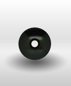 "Black 1⅛"" Ultra Lite Threadless Headset Cap"