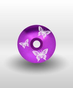 butterfly headset cap